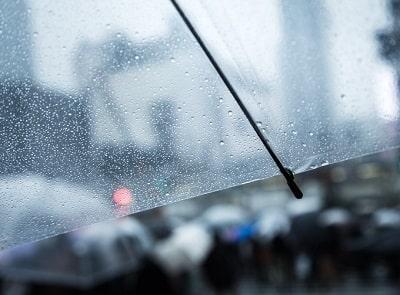 雨が降って暇